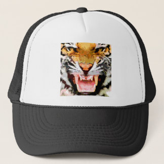 Angry Tiger - Eyes of Tiger Trucker Hat