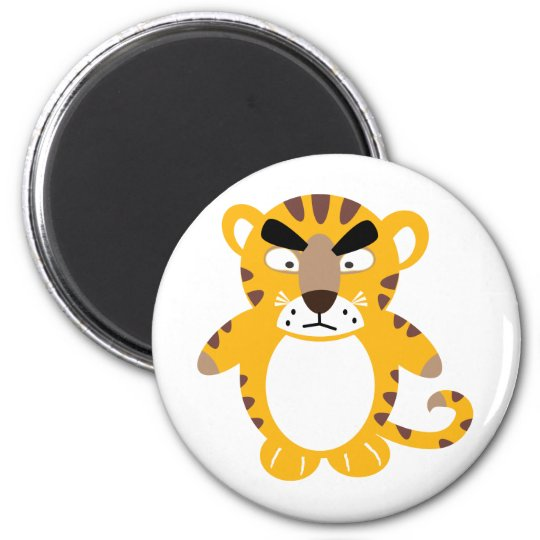 Angry Tiger Magnet