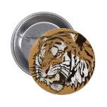 Angry Tiger Pins