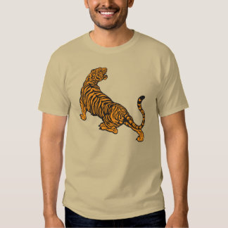 angry tiger t shirt