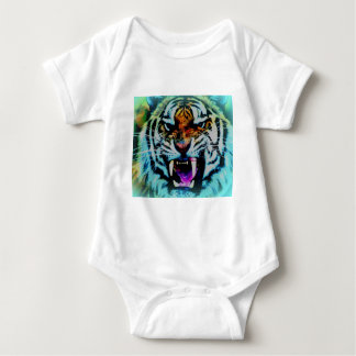 Angry tigre body para bebé