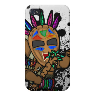 Angry Tiki Man iPhone 4 Speck Case iPhone 4/4S Cover