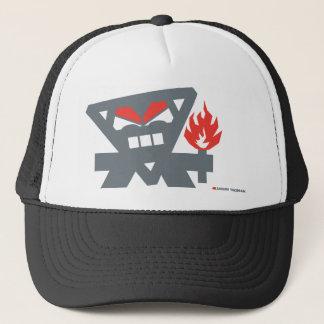 Angry Tikiman Trucker Hat