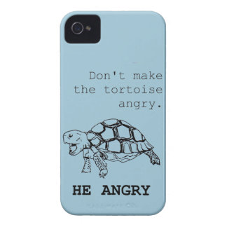 Angry Tortoise iPhone 4 Case-Mate Case