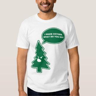 Angry Tree (crisp) T Shirt