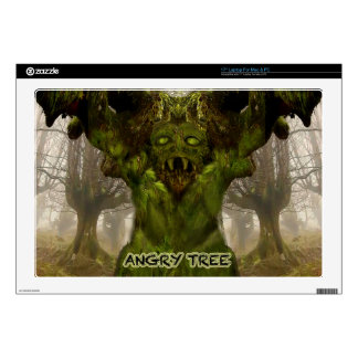 """Angry Tree Gifts multiple Products selected Skin For 17"""" Laptop"""
