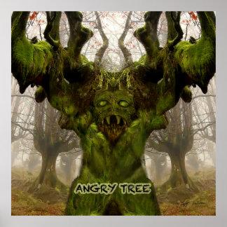 Angry Tree Poster Prints