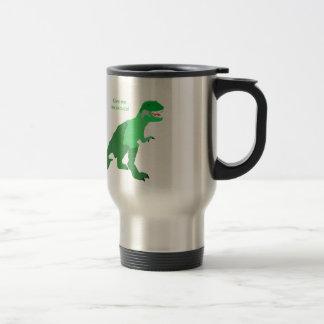 Angry Tyrannosaurs Rex Coffee Mugs
