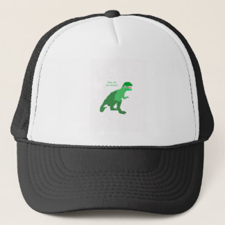 Angry Tyrannosaurs Rex Trucker Hat