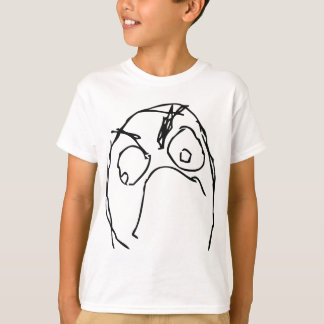 Angry Unhappy Meme Face T-Shirt