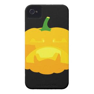 Angry Upset Jack-O-'Lantern iPhone 4 Case-Mate Case