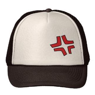 Angry vein trucker hat