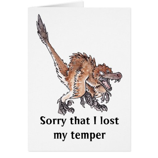 Angry Velociraptor Cards