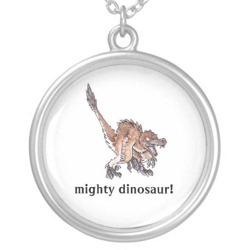 Angry Velociraptor Custom Jewelry
