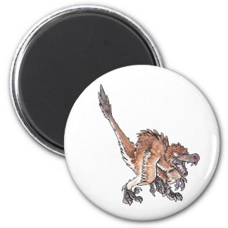 Angry Velociraptor Magnet