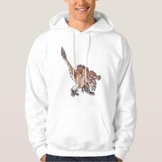 Angry Velociraptor Pullover