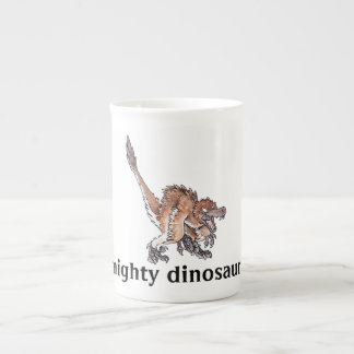 Angry Velociraptor Tea Cup
