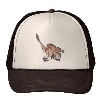Angry Velociraptor Trucker Hat
