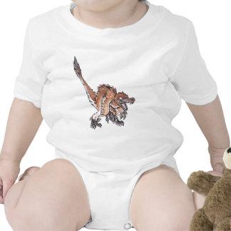 Angry Velociraptor Bodysuit