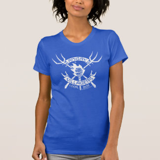 Angry Villagers T-Shirt (White/Royal Blue)