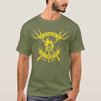 Angry Villagers T-Shirt (Yellow/Fatigue Green)