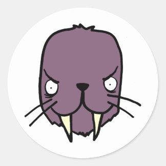 Angry Walrus Sticker