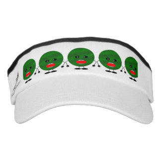Angry Watermelon by Kenneth Yoncich Visor