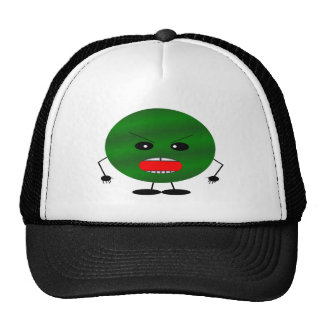 Angry Watermelon Trucker Hat
