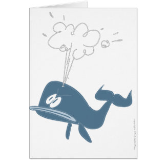 ANGRY WHALE CARD