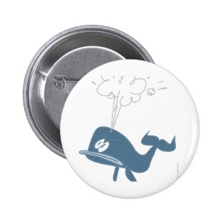 ANGRY WHALE PINBACK BUTTON
