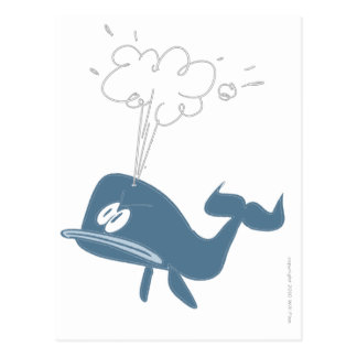 ANGRY WHALE POST CARDS