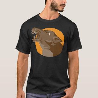 angry wild pig head retro T-Shirt