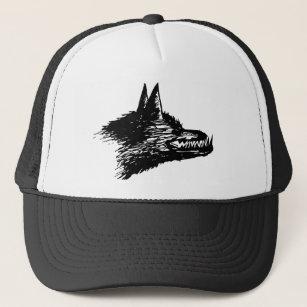 e56e2fde Wolf Sketch Baseball & Trucker Hats   Zazzle