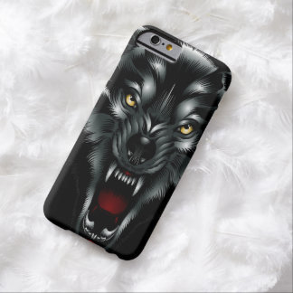 Angry Wolf Face iPhone 6 case
