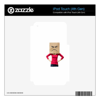 Angry woman skin for iPod touch 4G