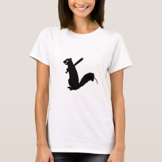 Angry Zombie Squirrel Collection T-Shirt