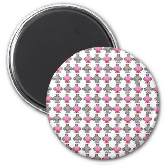 AngryBot LoveBot 2 Inch Round Magnet