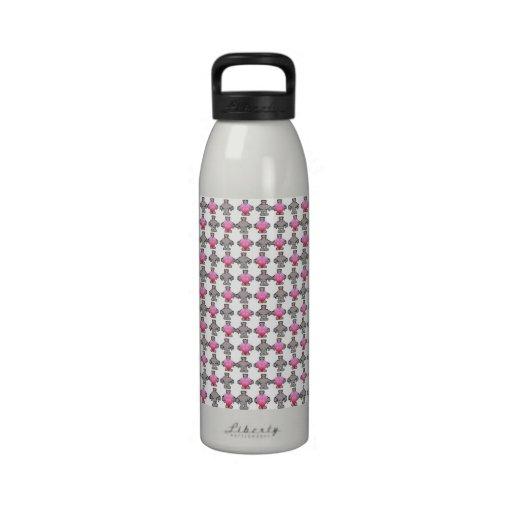 AngryBot LoveBot Botella De Agua