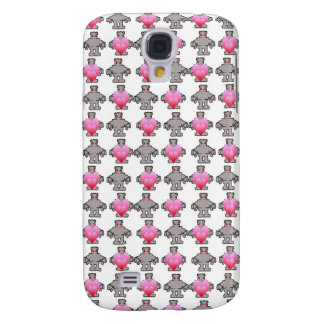 AngryBot LoveBot Funda Para Galaxy S4