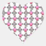 AngryBot LoveBot Colcomanias De Corazon Personalizadas