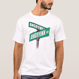 Angryink Tattoos Street Sign T-Shirt