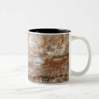 ANGST Survey Galaxy - NGC 253 Two-Tone Coffee Mug
