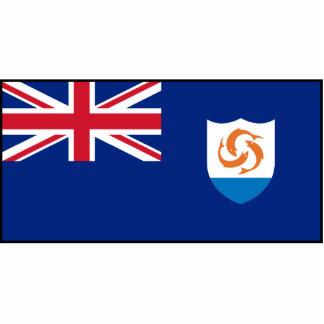 Anguila - bandera de Anguillian Escultura Fotográfica