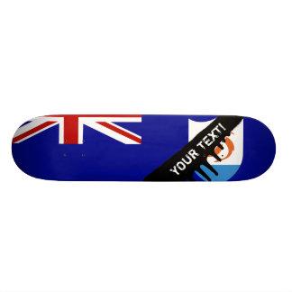 Anguila Flag Skateboard