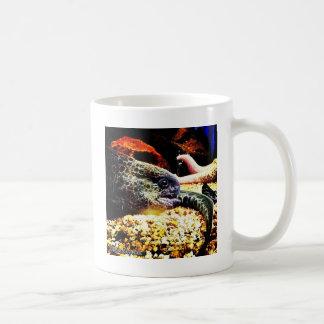 Anguila manchada taza clásica