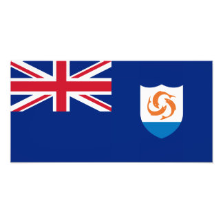 Anguilla - Anguillian Flag Photo Print