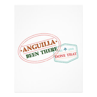 Anguilla Been There Done That Letterhead
