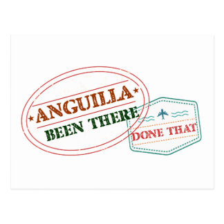 Anguilla Been There Done That Postcard