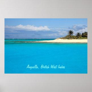 Anguilla, British West Indies, Poster