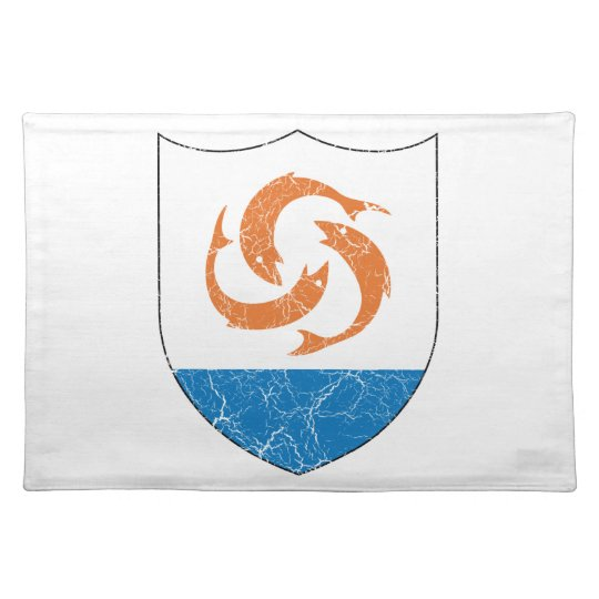 Anguilla Coat Of Arms Cloth Placemat